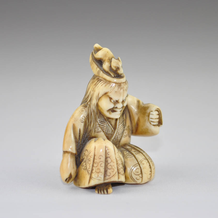 Nō actor in the role of Inari. (Sold)