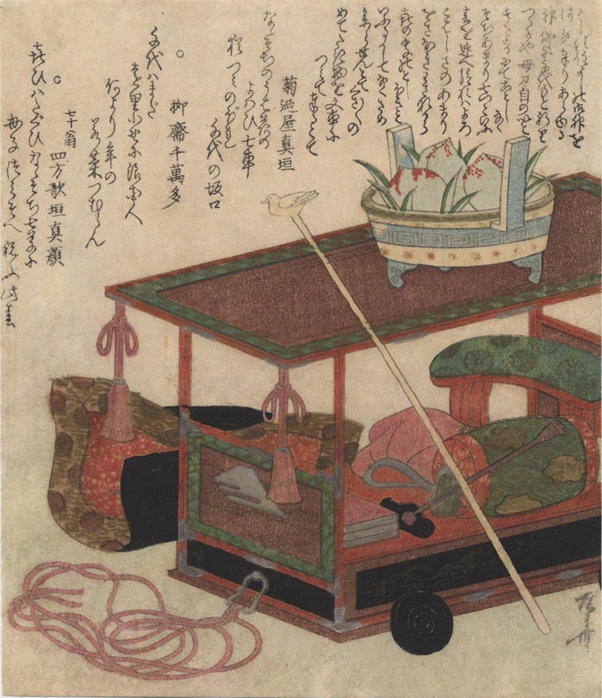 SHINSAI  (1764?–1820). Fuguruma. (Sold)