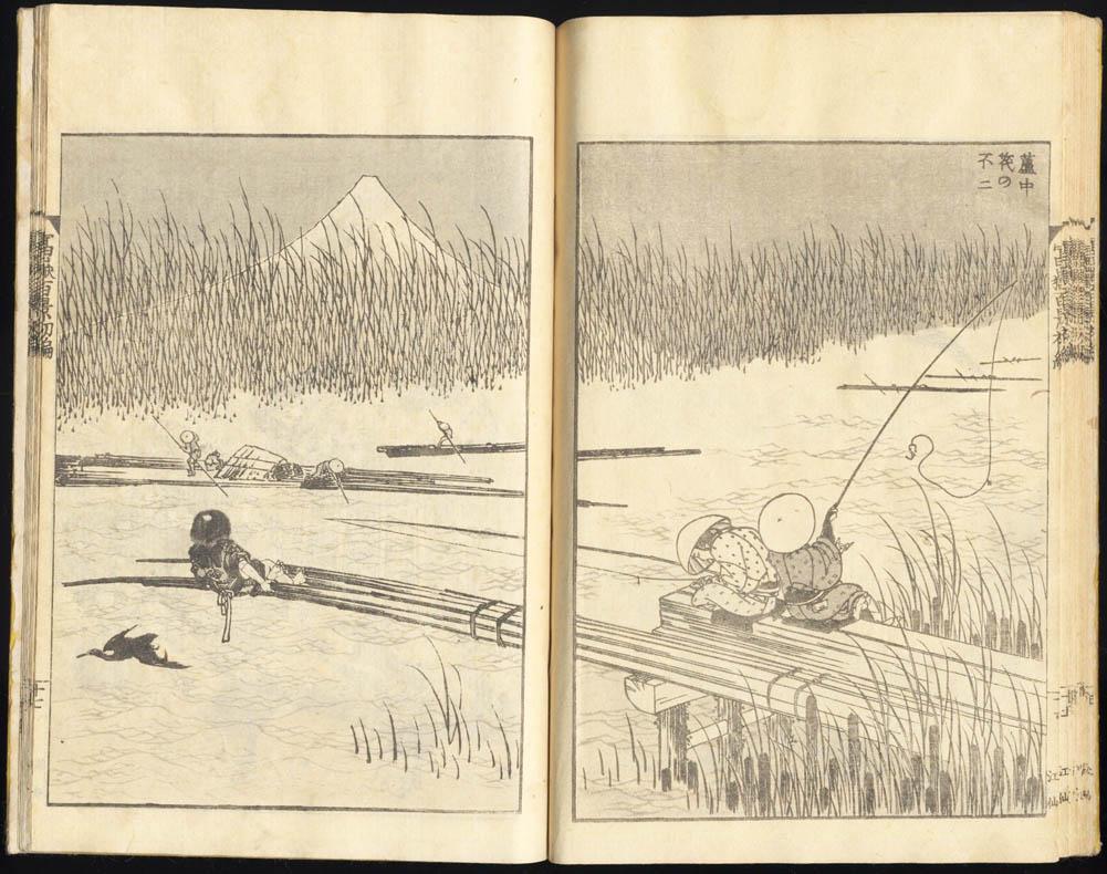 Hokusai 1760 1849 100 Views Of Mount Fuji Sold